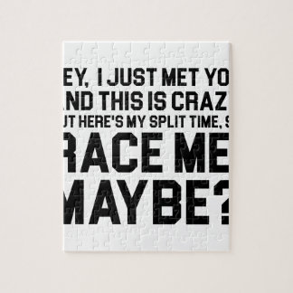 Race Me Maybe Jigsaw Puzzle