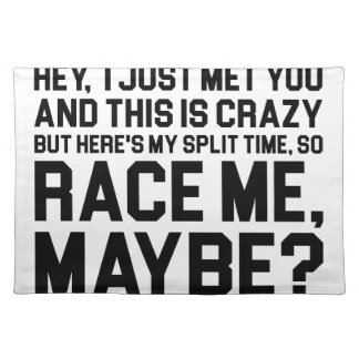 Race Me Maybe Placemat