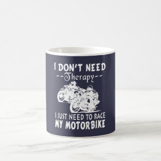 RACE MY MOTORBIKE COFFEE MUG
