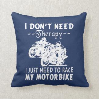 RACE MY MOTORBIKE CUSHION