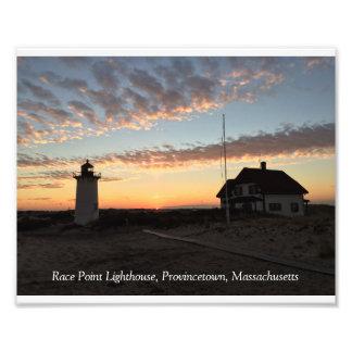 Race Point Lighthouse Sunrise Photo Print