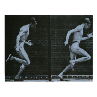 race postcard