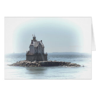 Race Rock Lighthouse - In A Lighter Tone Card