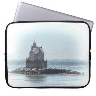 Race Rock Lighthouse - In A Lighter Tone Laptop Sleeve