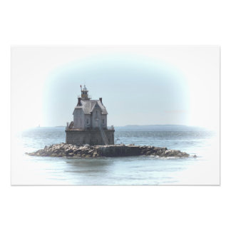 Race Rock Lighthouse - In A Lighter Tone Photo Print