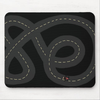 Race Track Mouse Pad
