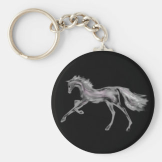 Racehorse Greats ~ White Deco Keychain