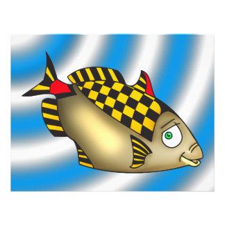 Racer Fish 21.5 Cm X 28 Cm Flyer