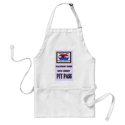 Raceway park Pit Pass Apron