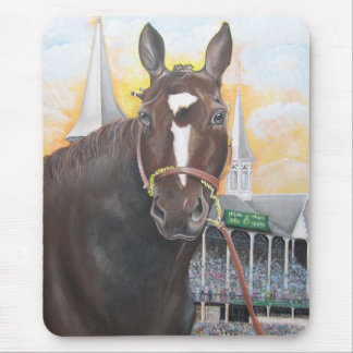 Rachel Alexandra at Churchill Downs Mouse Pad