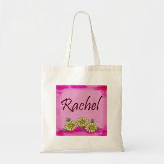 Rachel Daisy Tote Bags