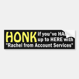 Rachel from Account Services Sticker