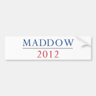 Rachel Maddow 2012 Bumper Sticker