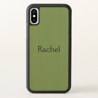 Rachel name of character from Orphan Black TV show iPhone X Case