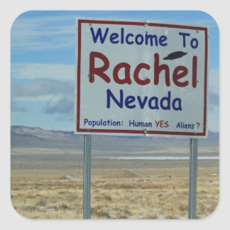 "Rachel Nevada 3"" Stickers - Set of 6"