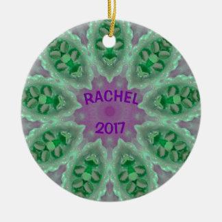 RACHEL ~ Personalized Luminous Ornament Fractal ~