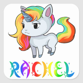 Rachel Unicorn Sticker