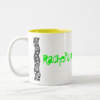Rachel's Pimp Juice Two-Tone Coffee Mug