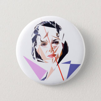 Rachida Dati 6 Cm Round Badge