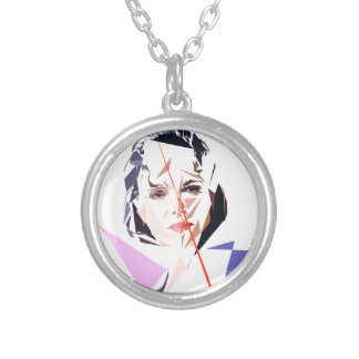Rachida Dati Silver Plated Necklace
