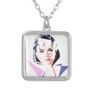 Rachida Dati Silver Plated Necklace