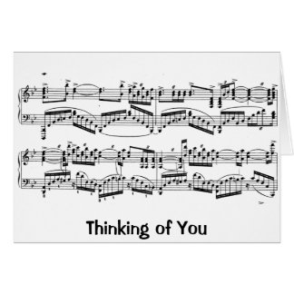 Rachmaninoff Note Card