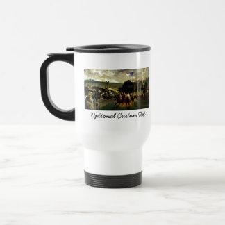 Racing at Longchamp Stainless Steel Travel Mug
