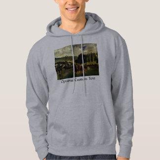 Racing at Longchamp Sweatshirt