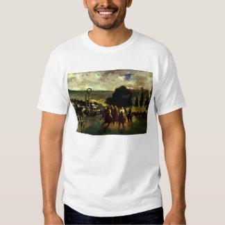 Racing at Longchamp T-shirt