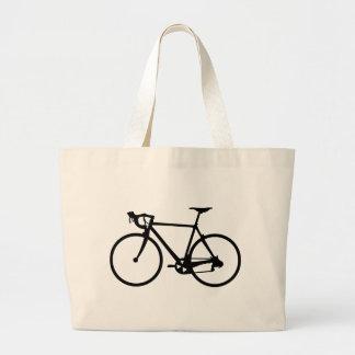 racing bike - racer bicycle canvas bag
