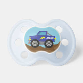 Racing Blue Monster Truck, for Baby Boys Dummy