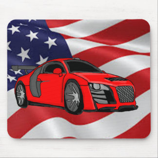 Racing car design gifts and products mouse pad