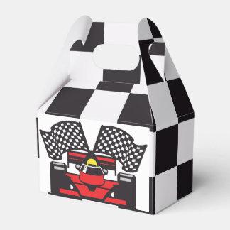 Racing Car Design Party Favor Box