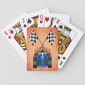 Racing Car Playing Cards