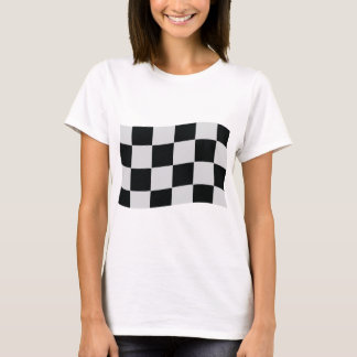racing checker flag T-Shirt