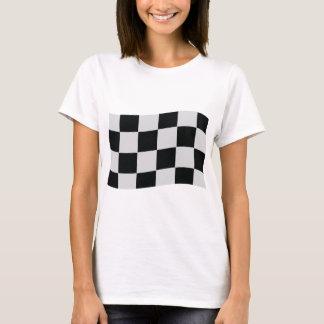 racing checker flag T-Shirt