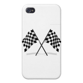 Racing Checkered Flags iPhone 4 Cases