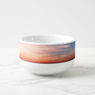 Racing Clouds Soup Mug