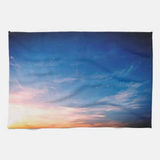 Racing Clouds Tea Towel