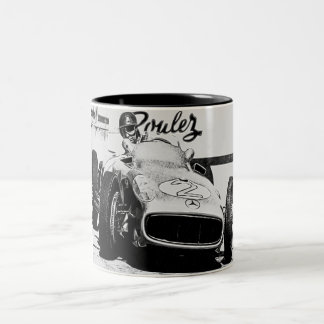 Racing driver 2 Two-Tone coffee mug