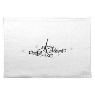 Racing Drone Quadcopter Placemat