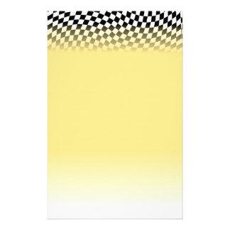 Racing Flag Stationery