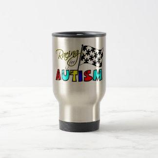 Racing for Autism Mug