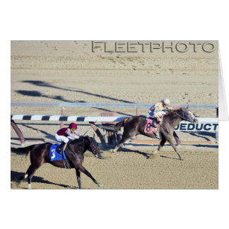 Racing from Aqueduct Card