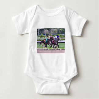 RACING FROM HISTORIC SARATOGA BABY BODYSUIT