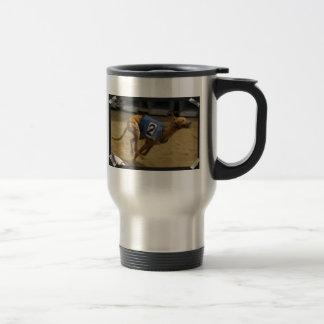 Racing Greyhound Stainless Steel Travel Mug