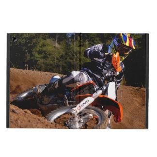 Racing hard through the corner. case for iPad air