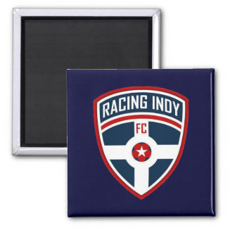 Racing Indy Blue Magnet
