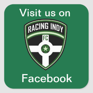 Racing Indy Sticker