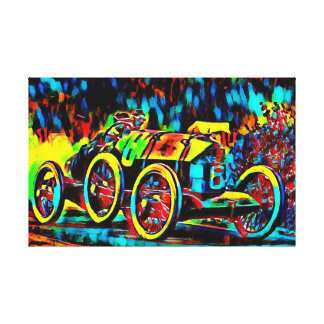Racing into the 1920ies canvas print